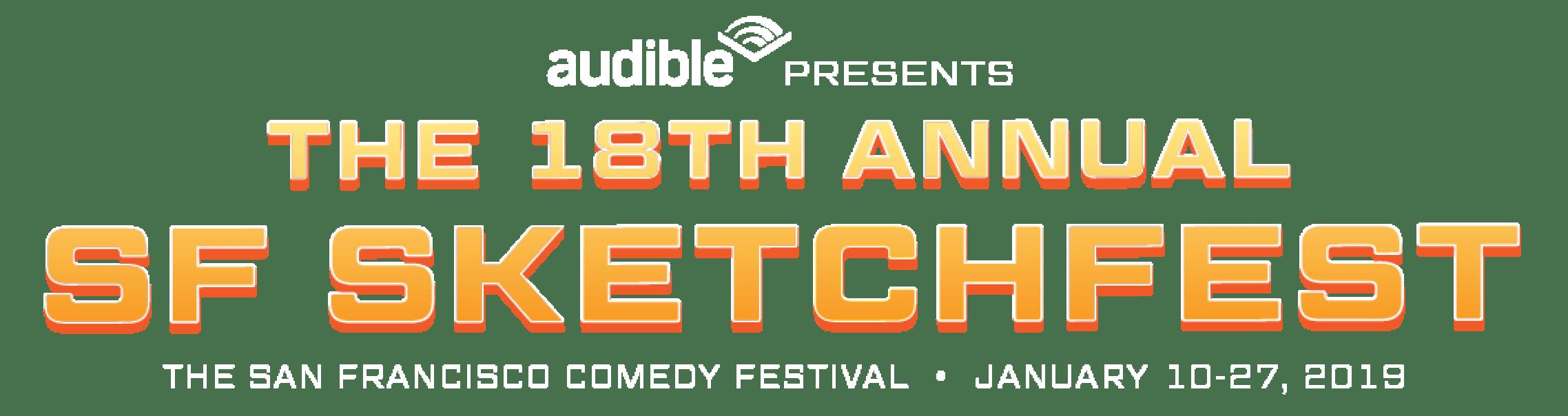 San Francisco Sketchfest Logo Lockup